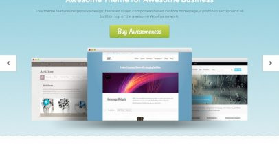Woothemes wordpress企业主题 - PixelPress