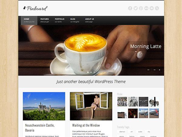 Wordpress汉化主题 - Pinboard
