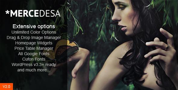 WordPress企业主题 - Mercedesa