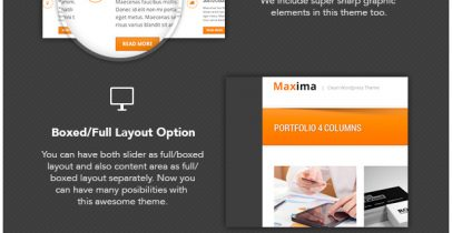 Wordpress企业主题 - Maxima