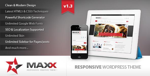 Wordpress企业主题 - Maxx