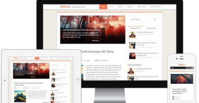 Wordpress博客主题 - SoftPress