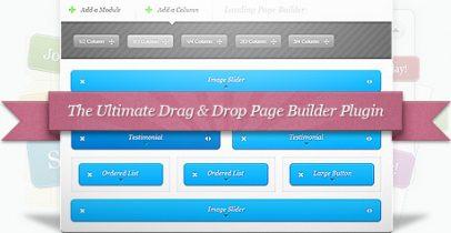 可视化页面拖拽编辑器插件:Elegant Builder[汉化]