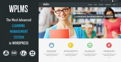 Wordpress在线学习管理系统 - WPLMS