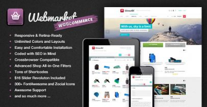 Wordpress外贸商城主题 - Webmarket