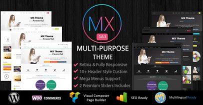 MX 响应式Wordpress企业主题