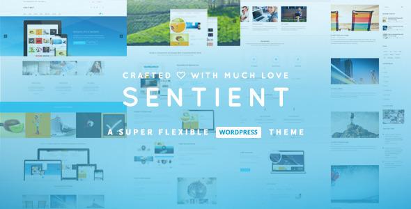 Sentient 响应式WordPress企业主题
