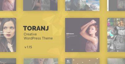 Toranj v1.15.2 创意类响应式WordPress主题