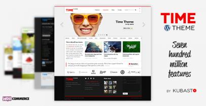 Time 自适应WordPress企业主题