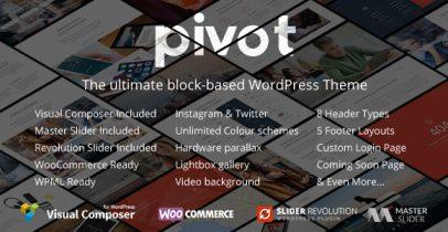 Pivot Wordpress自适应企业主题