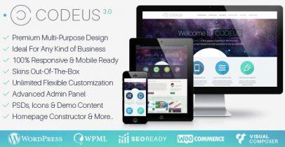 Codeus Wordpress响应式企业主题