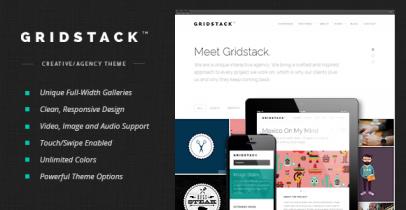 GridStack 简洁的wordpress企业主题