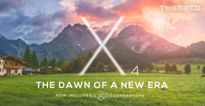 X The Theme 强大的Wordpress企业主题