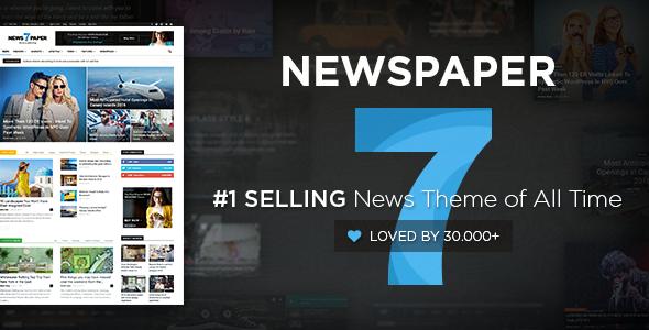 Newspaper v7.8 最火的Wordpress新闻主题