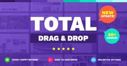 Total v4.0 多功能响应式WordPress主题