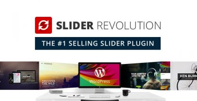Slider Revolution 响应式幻灯滑块wordpress插件