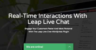 Leap 在线客服系统 wordpress在线实时聊天插件