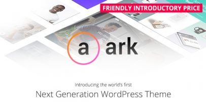 The Ark wordpress企业主题