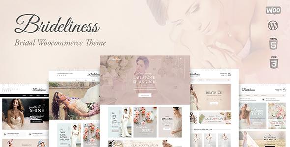 Brideliness WordPress婚庆类主题