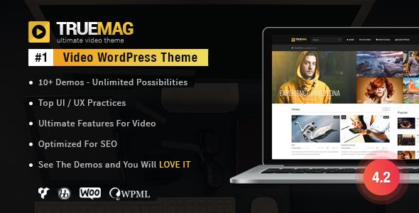 True Mag WordPress视频主题