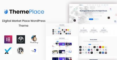 ThemePlace - Wrdpress数字市场主题