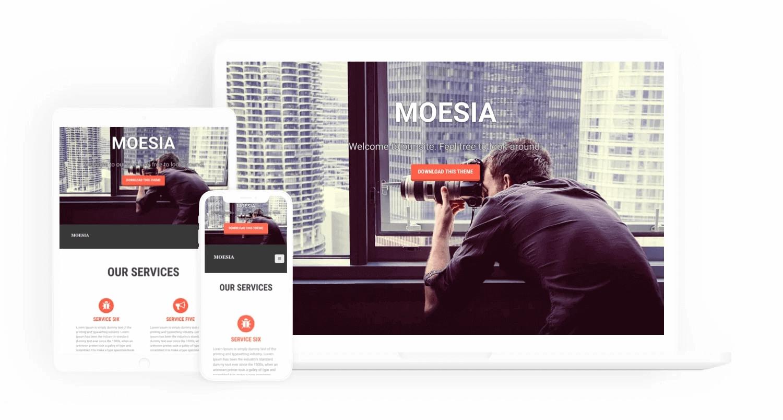 Moesia 免费WordPress公司主题