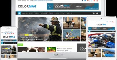 ColorMag 免费响应式杂志风格WordPress主题